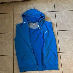 Nike vest hoody